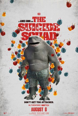 The Suicide Squad (2021) Character Poster - King requin