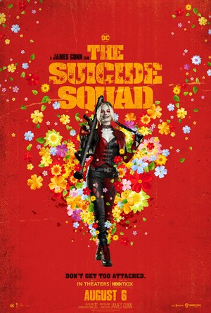 The Suicide Squad (2021) Poster - Harley Quinn
