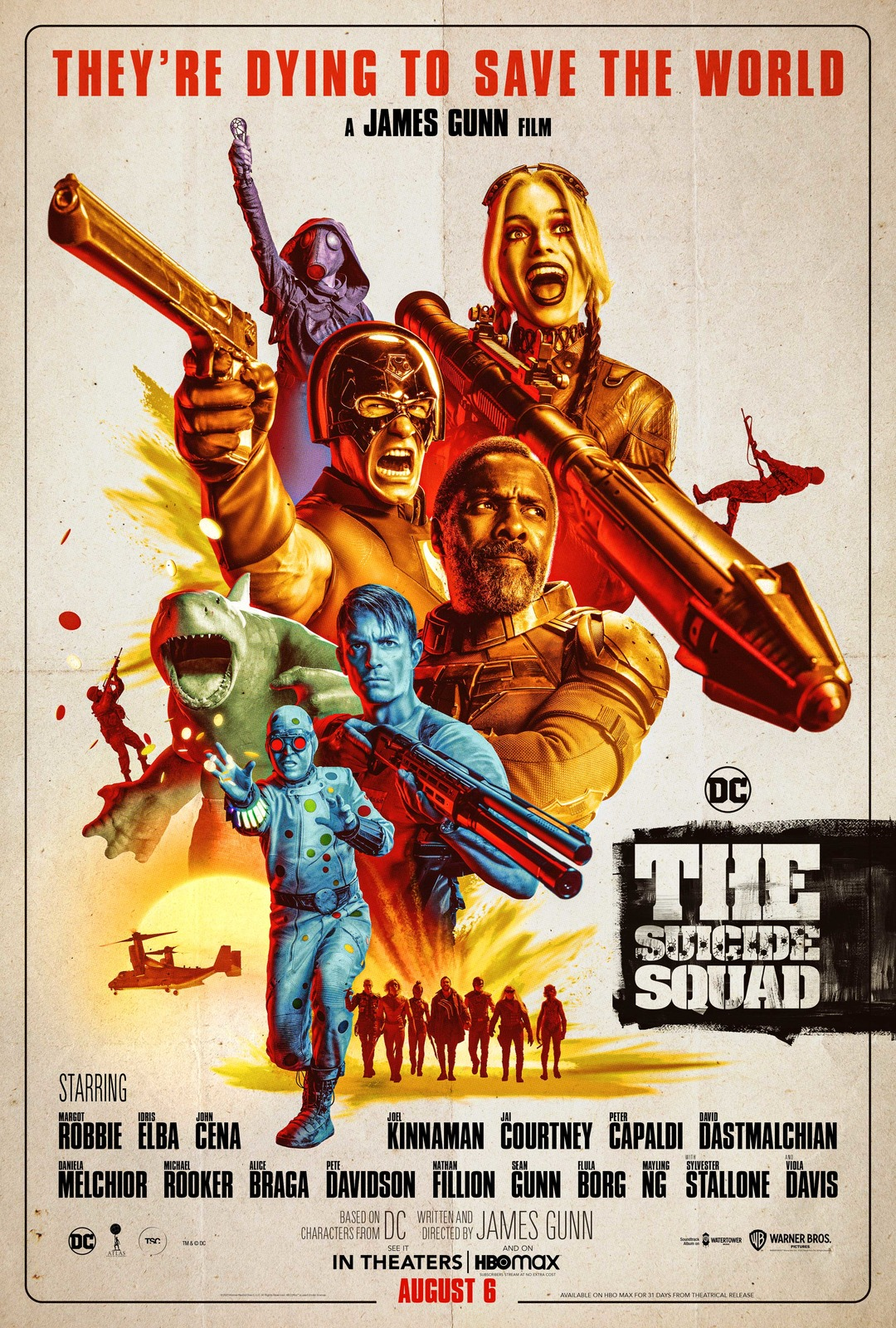 The Suicide Squad (2021) Poster