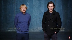 Tom Hiddleston and Owen Wilson || Virtual Launch for TFATWS