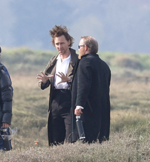 Tom Hiddleston as Will Ransome on set of The Essex Serpent || March 23, 2021