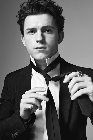 Tom Holland || AB DM × British GQ › 2021