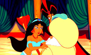 Walt Disney Screencaps - Princess Jasmine, Jafar & The Sultan