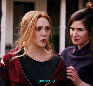 Wanda and Agnes || WandaVision || 1.07 || Breaking the Fourth ウォール