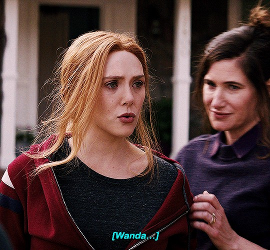 Wanda and Agnes || WandaVision || 1.07 || Breaking the Fourth tường