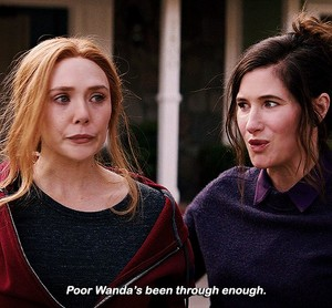 Wanda and Agnes || WandaVision || 1.07 || Breaking the Fourth uithangbord