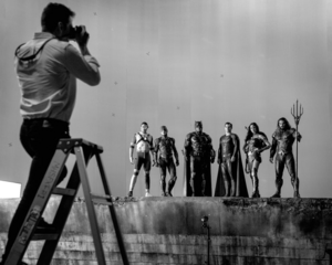 Zack Snyder Photographs The Justice League