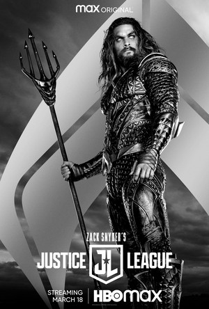 Zack Snyder's Justice League - Character Poster - Aquaman