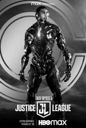 Zack Snyder's Justice League - Character Poster - Cyborg