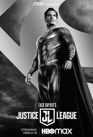 Zack Snyder's Justice League - Character Poster - Superman