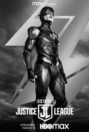 Zack Snyder's Justice League - Character Poster - The Flash