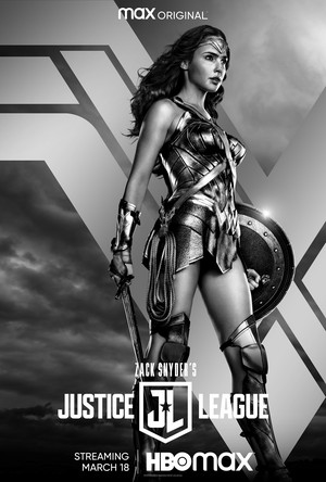 Zack Snyder's Justice League - Character Poster - Wonder Woman