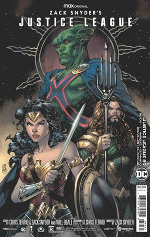 Zack Snyder's Justice League DC Comics Variant Covers