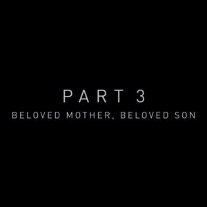 "Zack Snyder's Justice League: Part 3 titel - ""Beloved Mother, Beloved Son"""