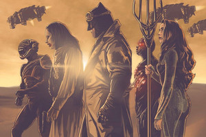 Zack Snyder's Justice League - Team Knightmare - The Flash, Joker, Batman, Cyborg and Mera