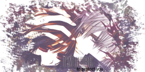 Zero/Yuuki Fanart - I'm Here To Protect You