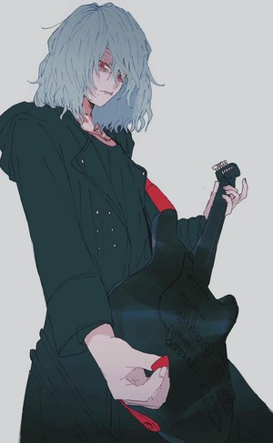 shigaraki with guitarra