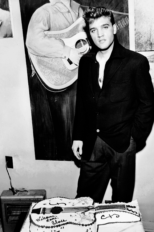Elvis Presley 25th Birthday Celebration 1960