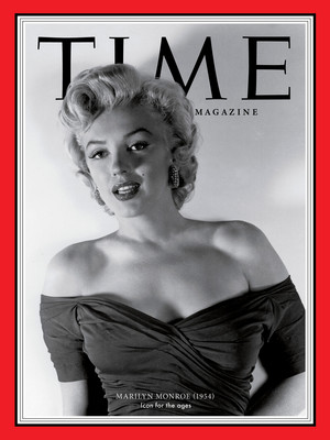 Marilyn Monroe On The Cover Of Time