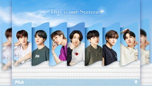 2021 FILA SUMMER COLLECTION | This is our Summer || Bangtan Boys