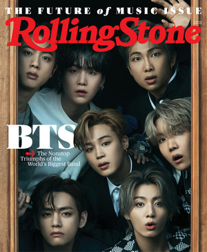 BTS on Rolling Stone Cover