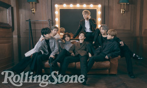 BTS on Rolling Stone