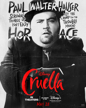 Cruella (2021) Character Poster - Paul Walter Hauser as Horace