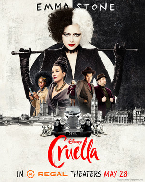 Cruella (2021) Regal Cinemas Poster