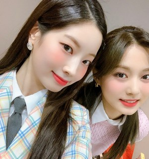 Dahyun and Tzuyu