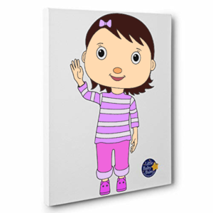 Lïttle Baby Bum Mïa Kïds Room Colorïng Canvas Decor