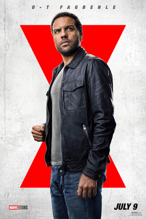 O-T Fagbenle as Rick Mason || Black Widow || Character Posters