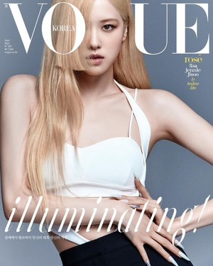 Rosé for 'VOGUE KOREA'