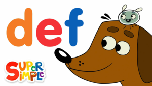 The Letters D-E-F | Learn The Alphabet Wïth Pratfall ABCs