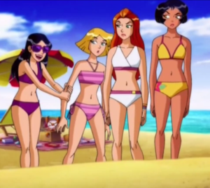 Totally Spies - Beauties at the beach, pwani