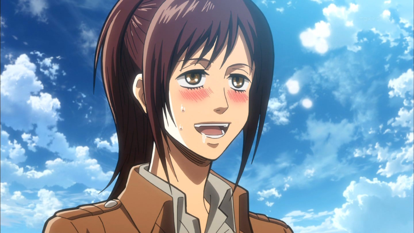 Who is your favorito! female Attack On Titan character ...