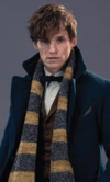 2- Newt Scamander (Fantastics Beasts and Where Find Them)
