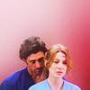 derek and meredith / grey's anatomy